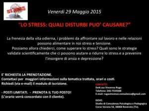 stress conferenza psicologia