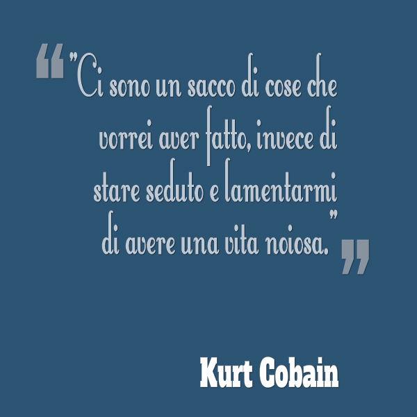 Estremamente L'ultimo documentario 2015 su Kurt Cobain - Stop Depressione MZ51